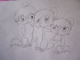 the chipettes by richtofenluvr