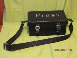 Leather carrying case for the camera by EgorOrda