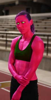 Athletic Blink by lovestained