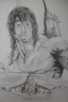 RAMBO III (3) SYLVESTER STALLONE by BUMCHEEKS2