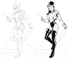 Zatanna Pencils and Inks by Project-Cow