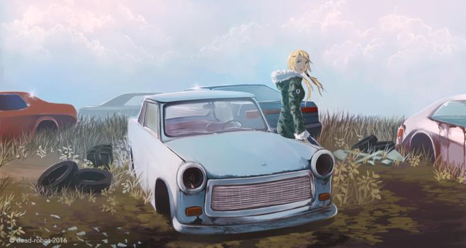 Trabant by dead-robot