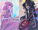peebles and marceline by marika