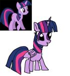 Twilight Sparkle (MlP) Drawing by Alycat2211