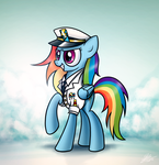 Wonderbolts Officer Dash by Dori-to