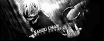 Tokyo Ghoul: Kaneki Chian Signature by RaTeD-Gfx