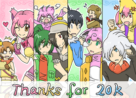 THANKS FOR 20K by Ringo-Mikan