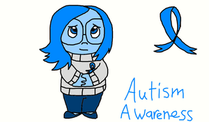 Autism Awareness With Sadness by KajeetDudesKatie