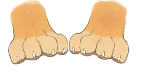 Paws! by wtfeather