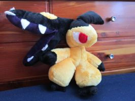 Mawile Plushie by DragonwolfRooke