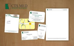 CTS MED Corporate Identity by michaelblackpl