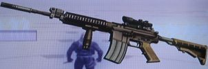 M4 with Scope and Grip A by 00Snake