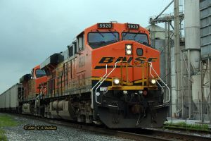 BNSF 5920 at Watts by labrat-78