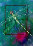 Dragonfly Gift by zyphryus