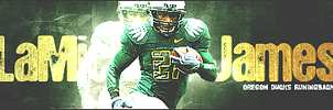 LaMichael James by eeryvision