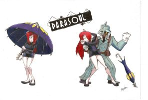 Parasoul's Double Take by CentaurHillZone