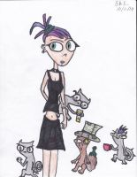 Germaine and the Squirrels by Camila-Andromeda