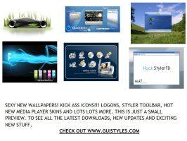 Hot New Updates at guistyles by guistyles