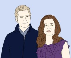 Carlisle and Esme by Amy-Donkey