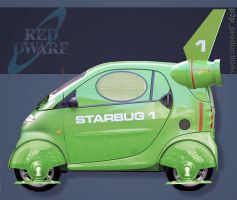 New red dwarf starbug car by Jayluke2006