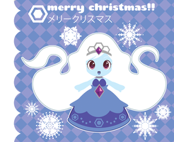 Winter Princess X-Mas Card ::GIFT:: by Itachi-Roxas