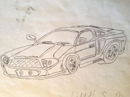 What I think the next mustang should look like by wyatt1001