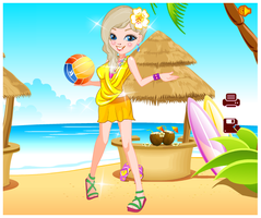Seaside Holiday Dress-up Game by willbeyou