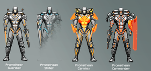 Promethean Guardian Sub-Classes by PlainBen