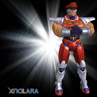 M. Bison Robot by DragonLord720