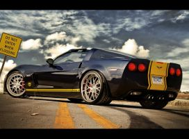 Chevy Corvette zr1 targa by Rugy2000