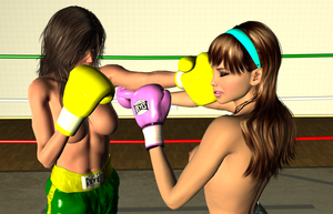 Random KO: Vera vs Lilly 003 by chuy9502