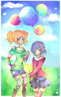 Balloon Buddies by mochatchi