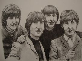 The Beatles by Jose-Fien