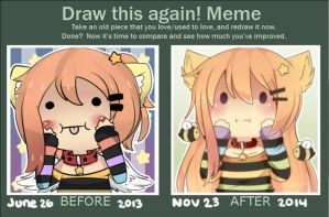 Before n After Meme by WanNyan