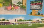 Vintage Motels - Virdan Motor Lodge, Danville VA by Yesterdays-Paper