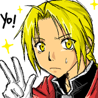 Edward Elric x3 by Luriel