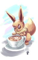 Eevee by JugglingDino