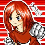 Sonic Human Proyect: Knuckles by nelli-sama