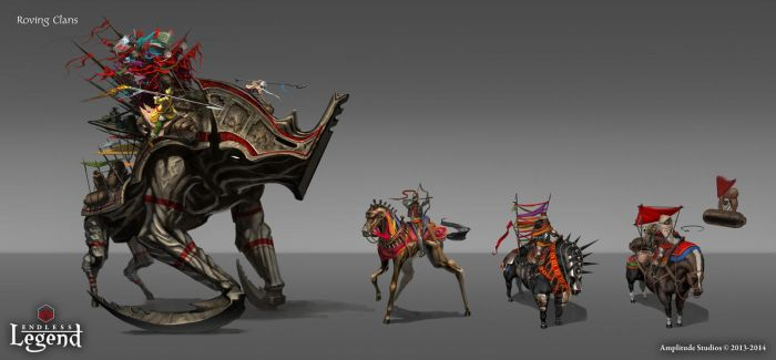 Roving Clans Units by TduCrest