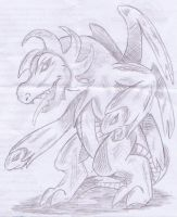 Hydreigon in Pencil by Operia