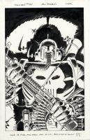 Punisher 34 cover 1990 by BillReinhold
