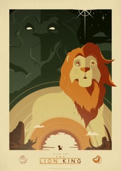 The Lion King Commission by ameba2k