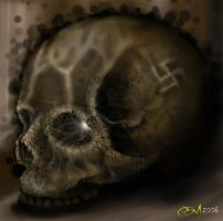 Skull of a Sadist by cromzl