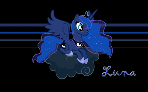 Luna Wallpaper by l13000