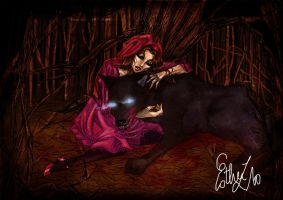 red riding hood color 1 by Estherrulez