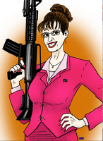 SARAH PALIN AP piece by phymns