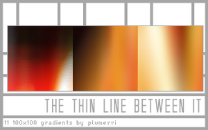 The Thin Line Between It by plumerri