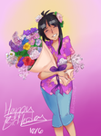 Flowers for the Birthday Girl by Sogequeen2550