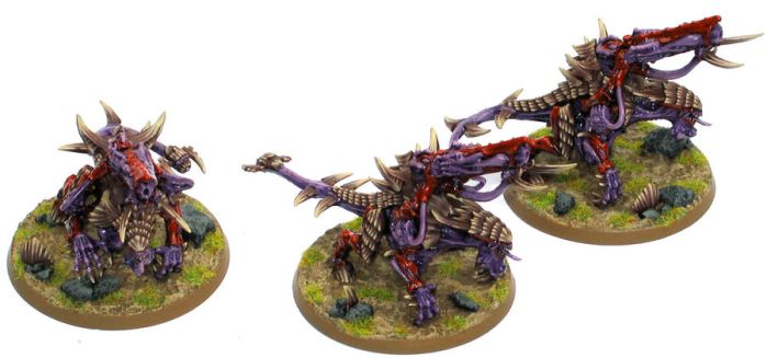 Tyranid Pyrovores by Lindsay40k