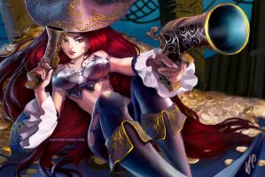 Miss Fortune by cypritree